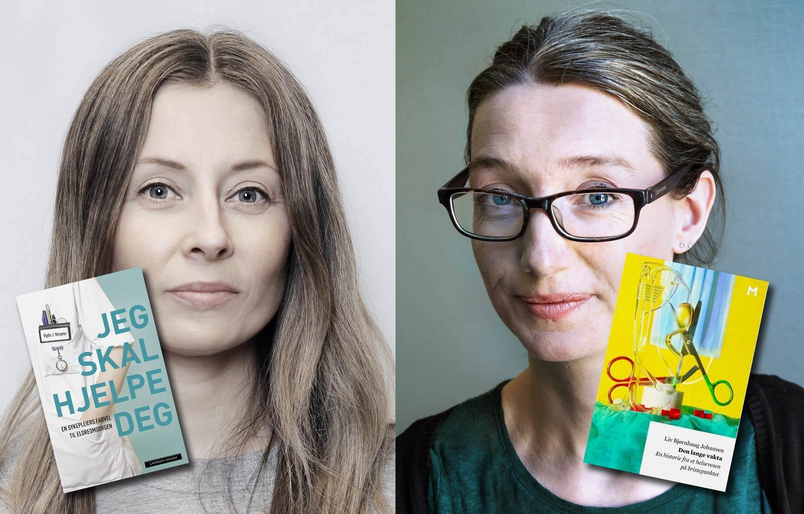 To kvinner og deres bøker.